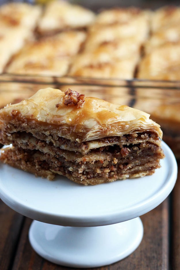 Maple Becan Baklava