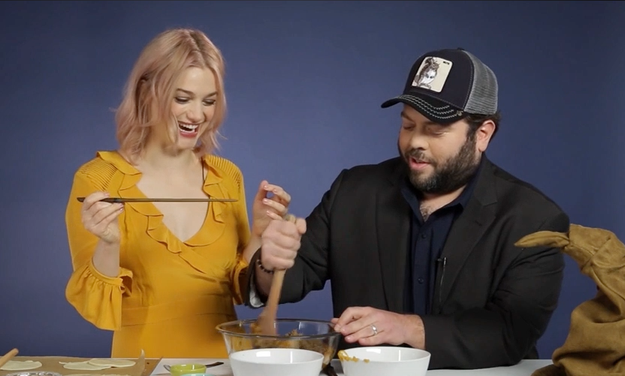 With this new story comes new characters and magical adventures, so to celebrate the film's release, we had two of its stars — the no-maj baker himself, Dan Fogler, and Alison Sudol — stop by BuzzFeed NY to help us make some ~wizarding treats~.