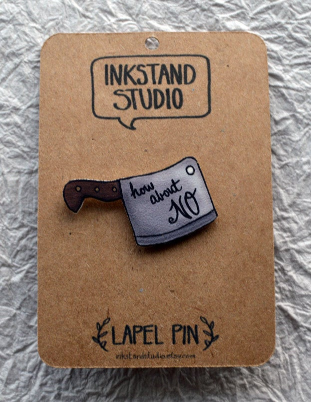 Time is ticking. Chop, chop...literally.Get it from Ink Stand Studio on Etsy for $8.