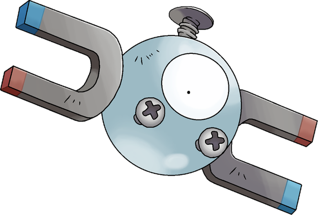 Other Pokémon are just household objects. This is a Magnet. A MAGNET.