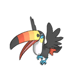 I guess Toucannon has blue feet, so that's cool...