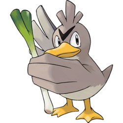 Farfetch'd is useless as a Pokémon but v. useful as Christmas dinner. Just roast that bad boy whole.