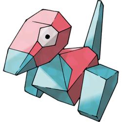 And then there's Porygon, which is a Pokémon made in a computer. Except... how does it battle IRL?