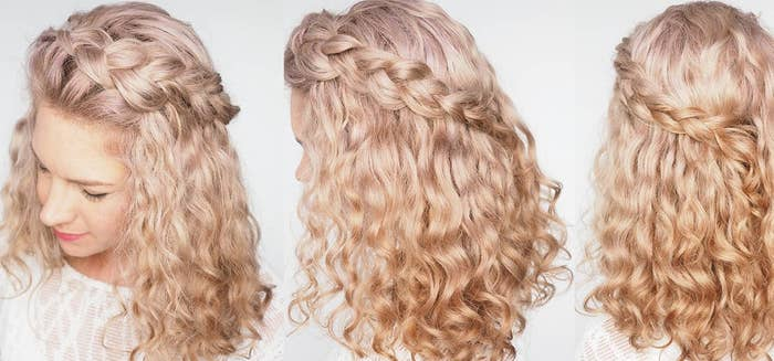 If you haven't got the hang of braiding hair, then this tutorial is worth a watch. It gives a detailed step-by-step guide on how to achieve this look.