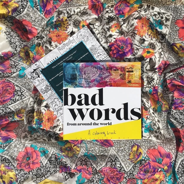 2016 has been a rough year and it's not over yet. If you're looking for some stress release Christine Rai's new coloring book, Bad Words From Around The World, might be the best thing for you.