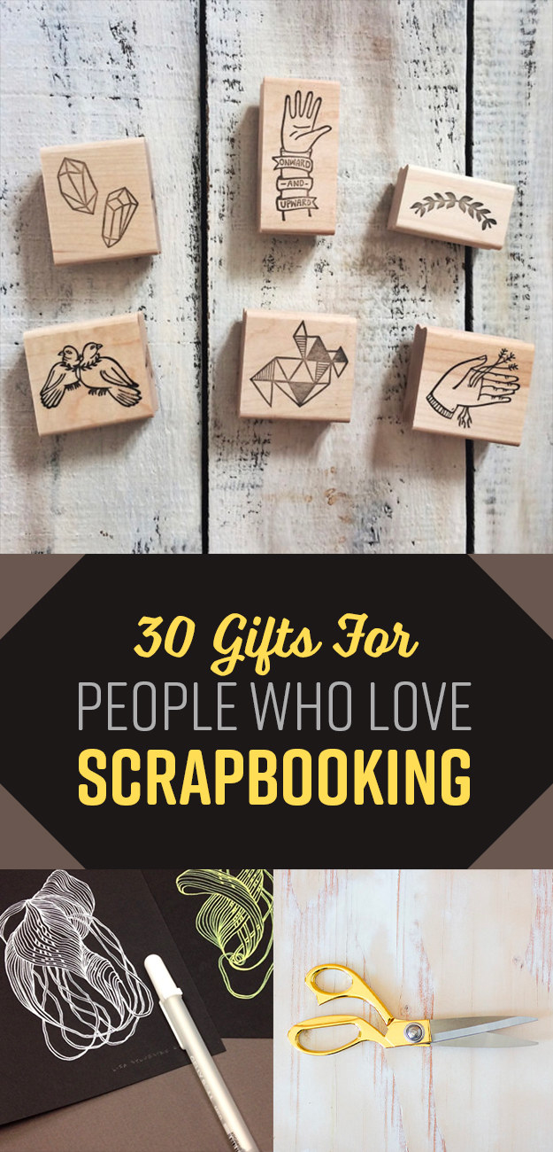 30 Awesome Products Every Scrapbooking Addict Needs