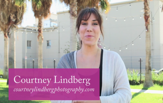 Helping our single people out was professional wedding photographer Courtney Lindberg.