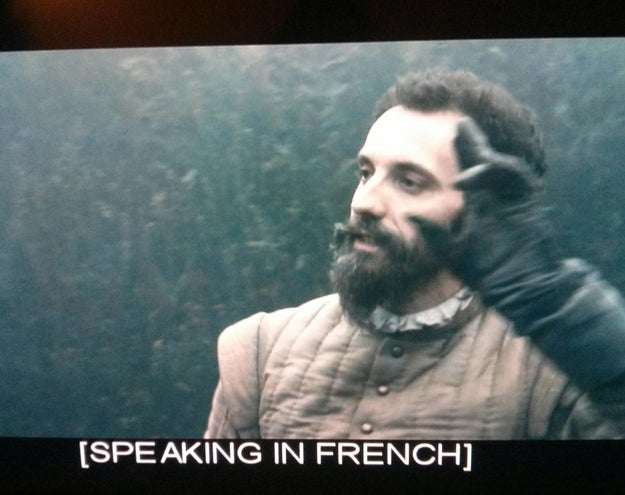 REMEMBER: you matter, unlike these subtitles: