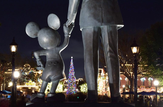 So, if you're thinking about taking a trip to the happiest place on earth, consider going during the holidays!