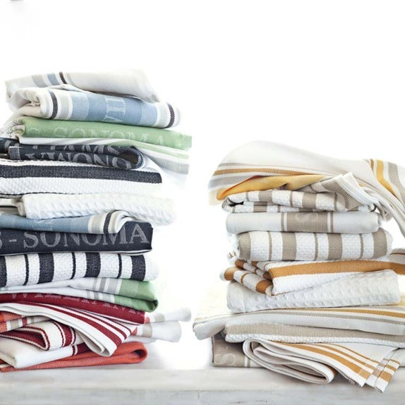 Wash all of your dish towels the day or night before, so you know you won't run out.