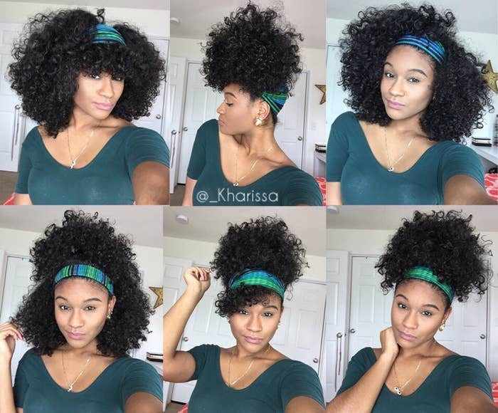 Just look at will these styles you can do with a scarf. Kharissa's tutorial is definitely worth checking out.