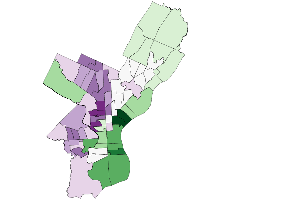 This Chart Shows Philadelphia Black Voters Stayed Home, Costing Clinton