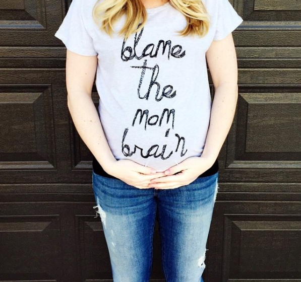 "Many moms-to-be suffer from ""pregnancy brain"" (also known as ""momnesia"")."