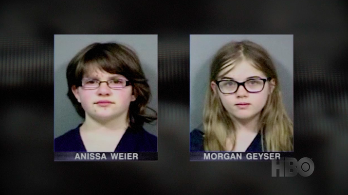 morgan geyser and anissa weier were accused of stabbing their friend payton leutner 19 times to become proxies of the internet myth slender man