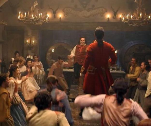 ...and even LeFou (Josh Gad). But no Gaston.