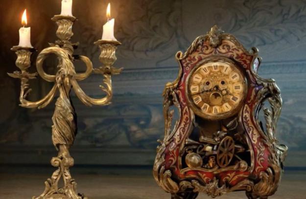 We've seen Lumière (Ewan McGregor) and Cogsworth (Sir Ian McKellen) in their full glory...