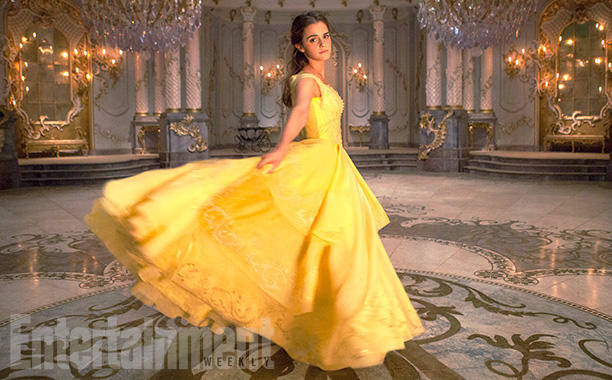 And here's a solo shot of Belle in her gown.