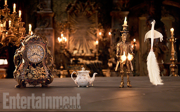 And look at MRS. POTTS! And Plumette!