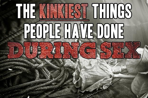 Very kinky sex ideas