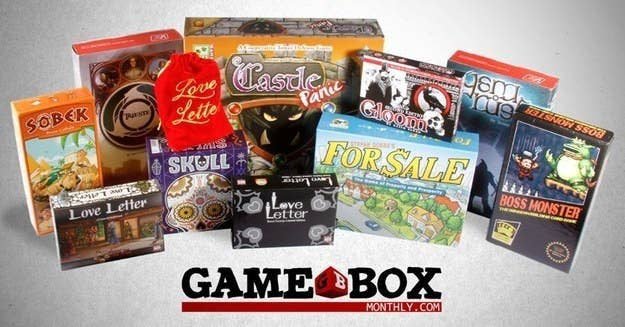 Not only will your friend feel compelled to play these games with you, but you also get to customize the selection! The future of your friend's Friday nights is in your hands.Get it here.