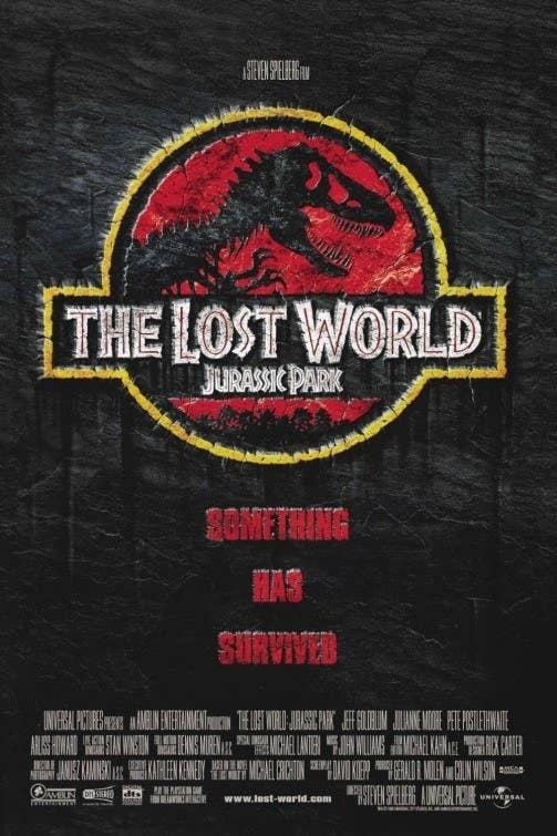 Fun fact: Michael Crichton, who wrote the novel Jurassic Park, which the first movie is based on, was persuaded by Steven Spielberg to write another book, The Lost World, so that there could be a sequel to the movie. Crichton even brought back the character of Ian Malcolm, despite the fact that he had killed him in the original novel.