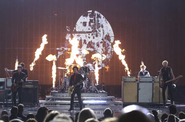 Green Day Protested Donald Trump At The American Music Awards