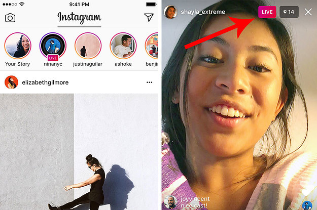 how to watch live instagram videos