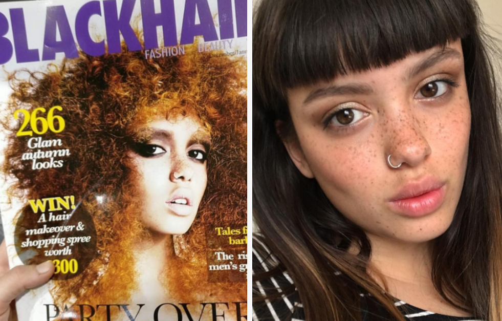A Black Hair Magazine Said They Accidentally Used A White