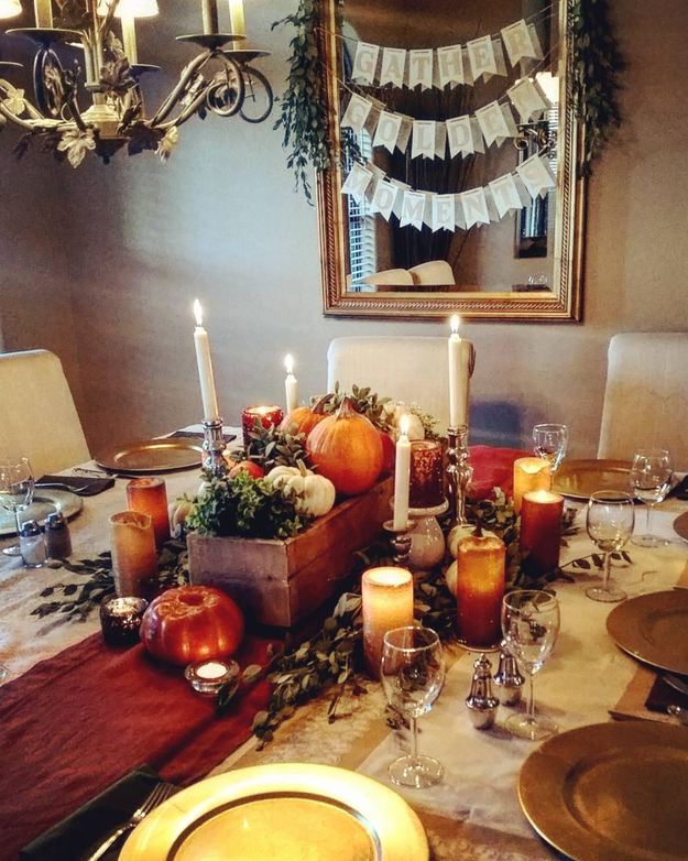 17 thanksgiving tables that are goals af for Buzzfeed best dining rooms