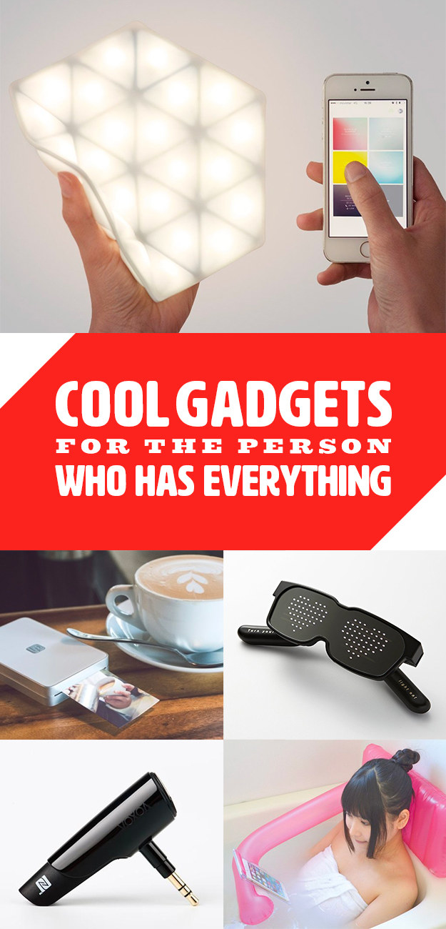 Unusual and useful gadgets that you want to receive as a gift