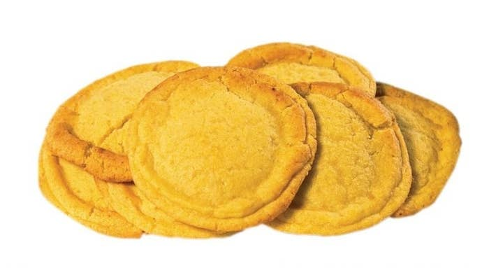 This corn cookie is very sweet and buttery—the way that good corn on the cob is. Get the recipe here.