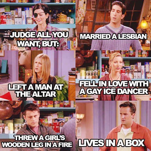 """The One With Chandler in a Box"" (Season 4)"