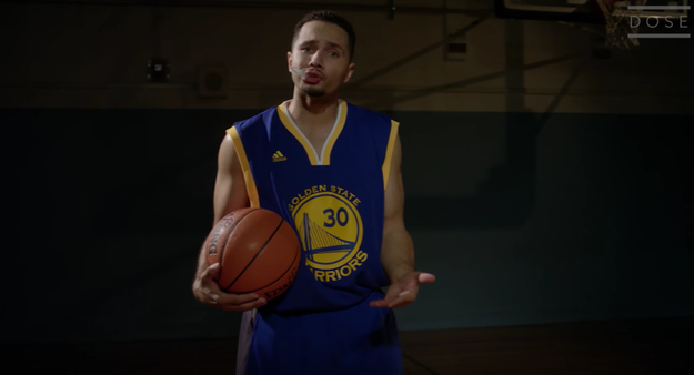 There's a ridiculously accurate Steph Curry singer.