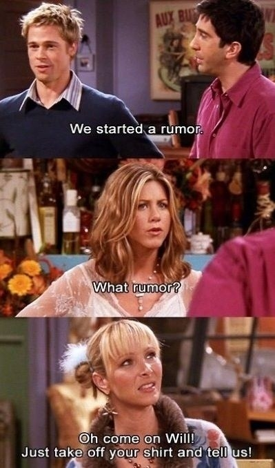 """""""The One With the Rumor"""" (Season 8)"""