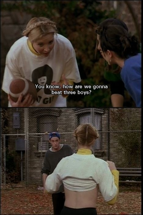 """""""The One With the Football"""" (Season 3)"""