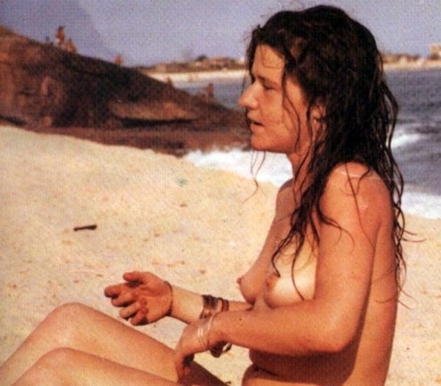 E as areias de Copacabana já tiveram até um top less de Janis Joplin no verão de 1970.