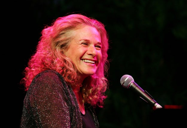 We all know that Carole King is a musical icon and queen.