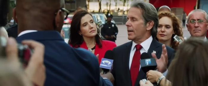 Gary Cole in the Trump-inspired episode of Law & Order: SVU.