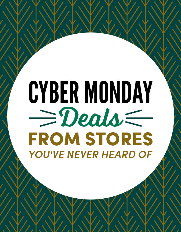 34 awesome cyber monday deals from stores you 39 ve never heard of. Black Bedroom Furniture Sets. Home Design Ideas