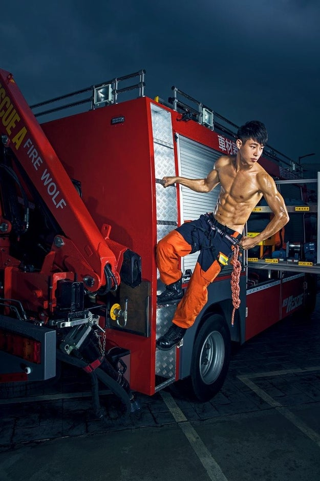 People Can't Get Enough Of These Photos Of Really Hot Firefighters