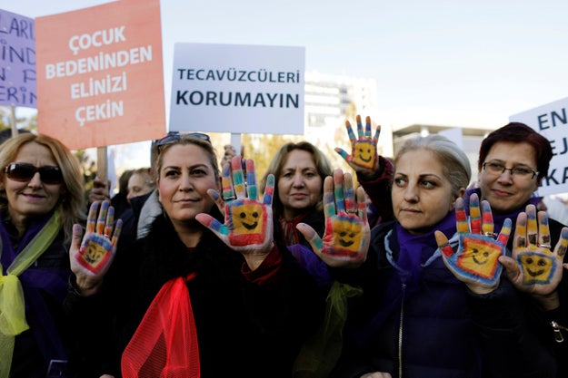 Turkey withdraws a bill that critics said essentially pardoned sexual abuse of minors