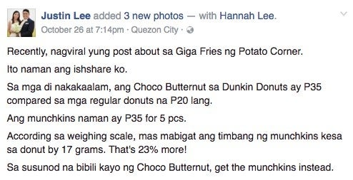 (It's like a real-life math problem, grabe.)