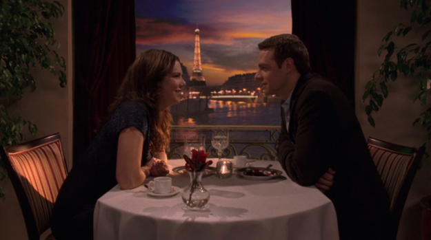 Lorelai and Christopher fly to Paris to bring Gigi to see Sherry, Gigi's mom/Christopher's ex. While on their romantic getaway, Lorelai and Christopher end up eloping.