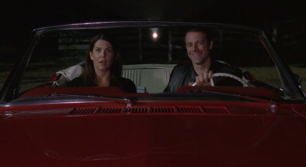 Lorelai and Christopher start dating for real, and things are actually going well this time around.