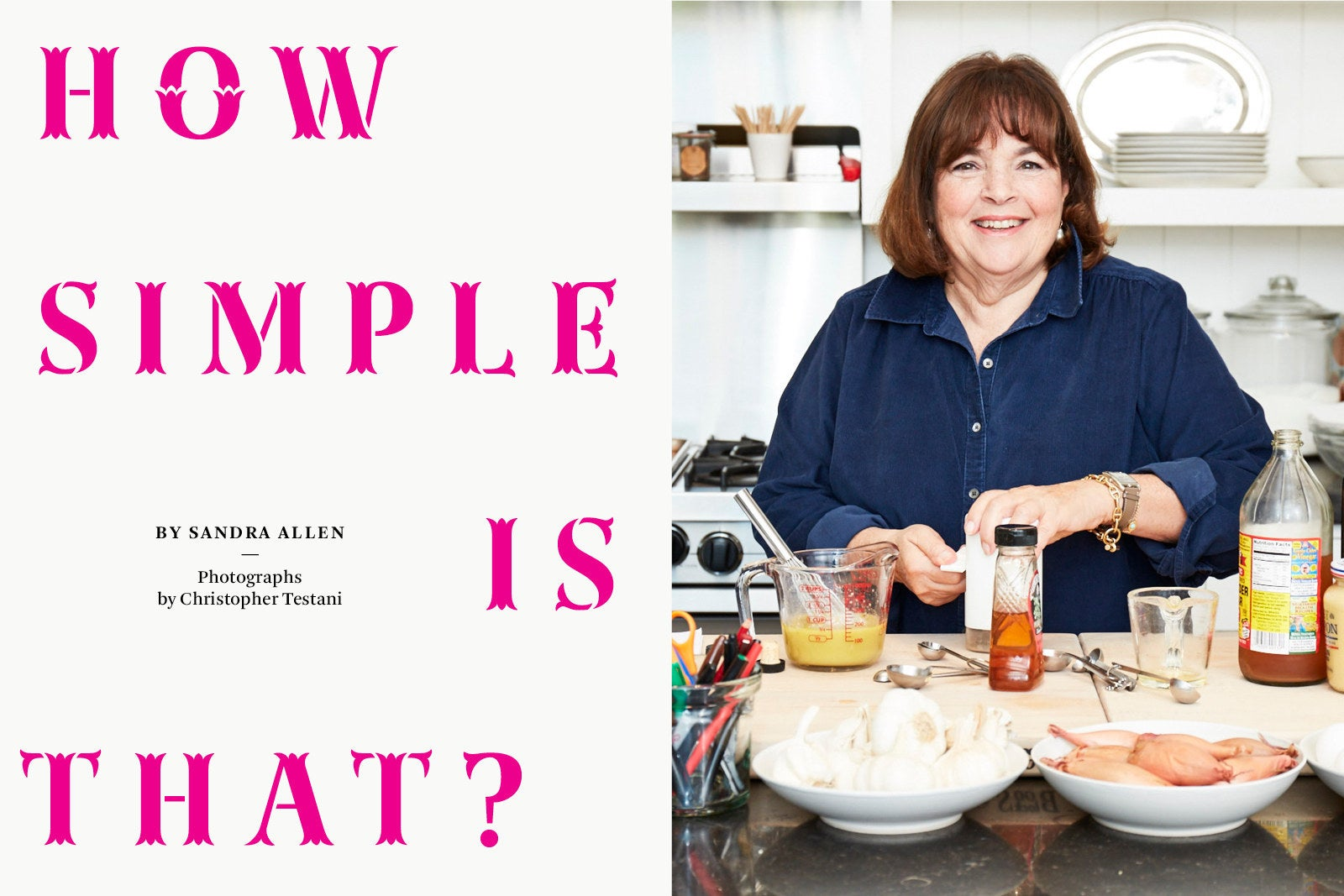 """Young Ina Garten how simple is that?"""": at home with ina garten"""