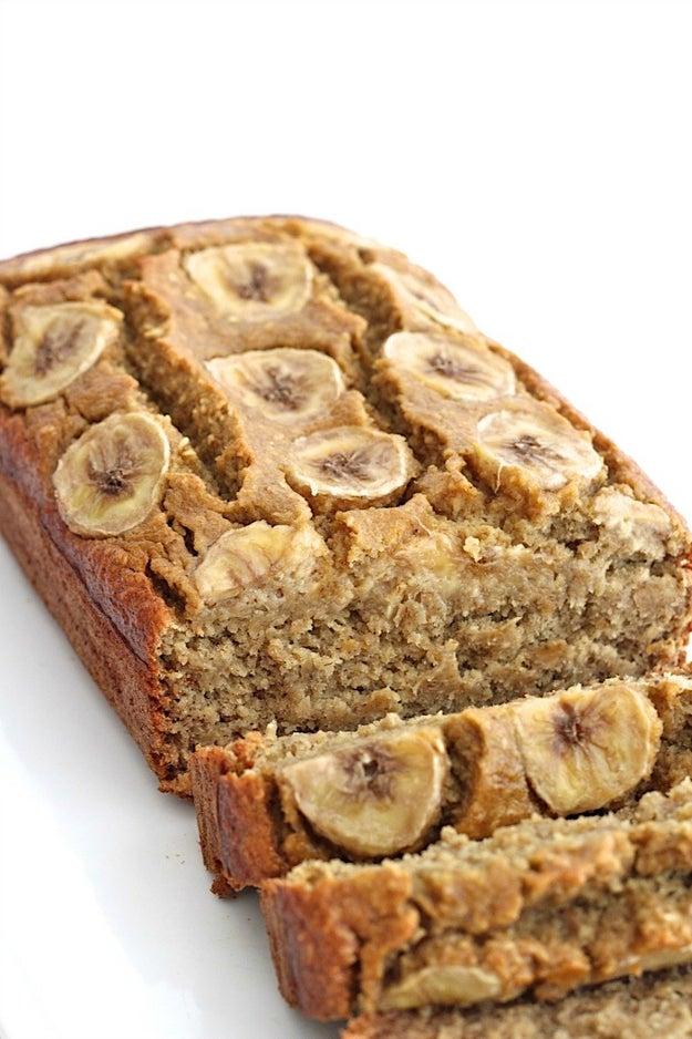 Five-Ingredient Flourless Banana Bread