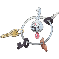 If my keys were as adorable/terrifying as Klefki, I'd probably never lose them.