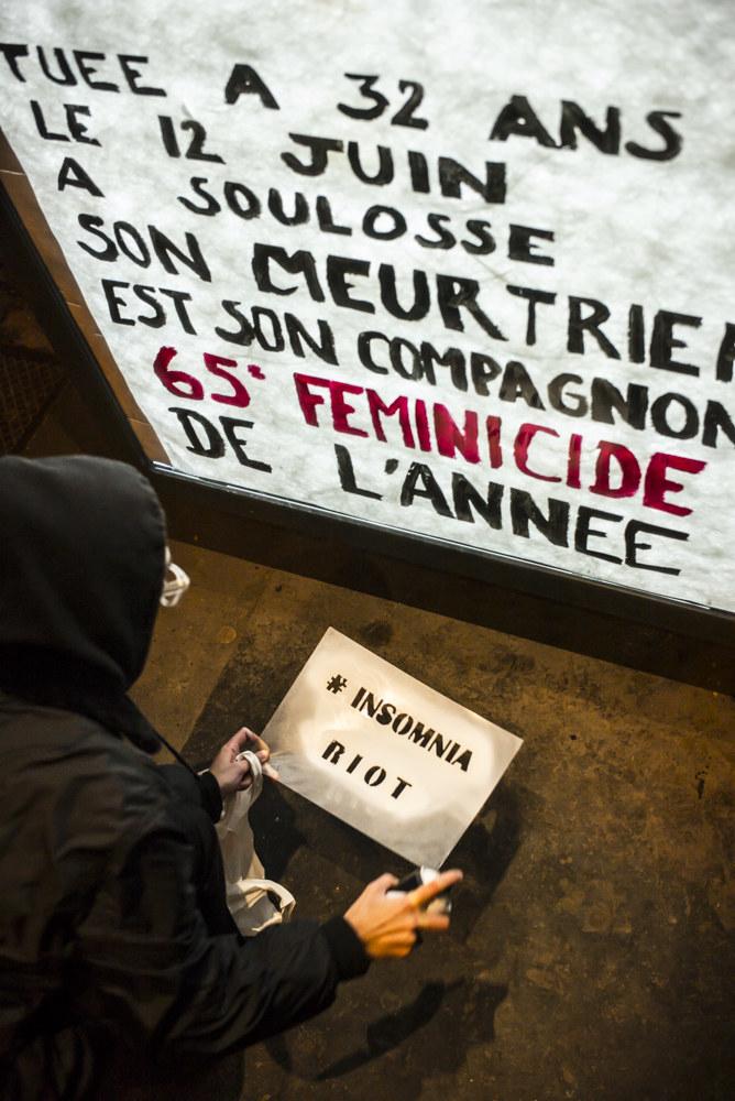 foto de Ce collectif féministe a affiché dans la rue les noms des