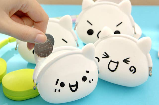 You can pick from a variety of expressions, so your coin purse can basically match any mood. Get these from YesStyle for $3.90 each.