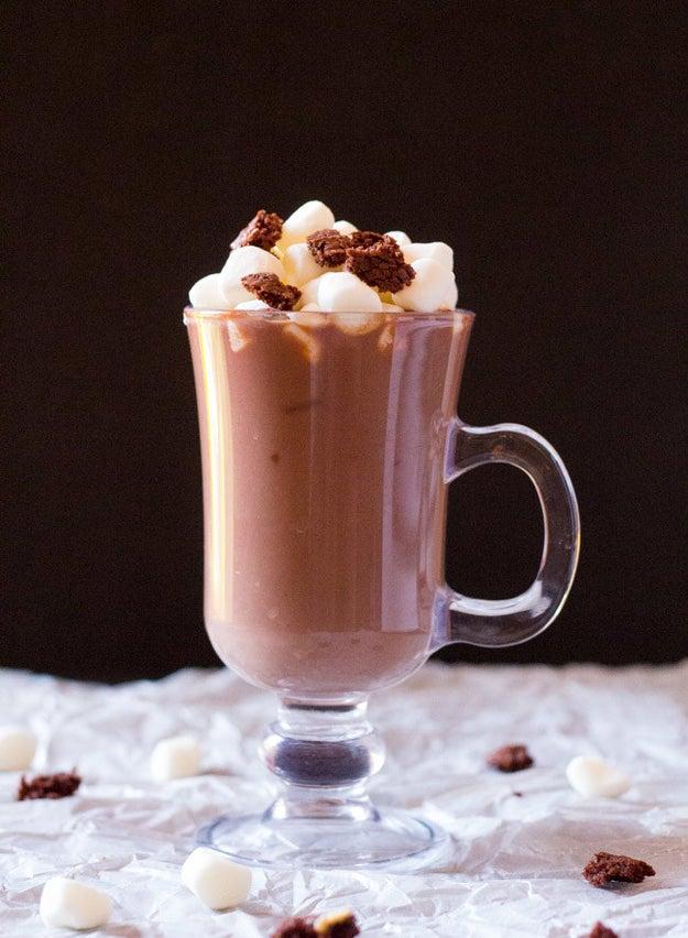 Brownie Mix Hot Chocolate